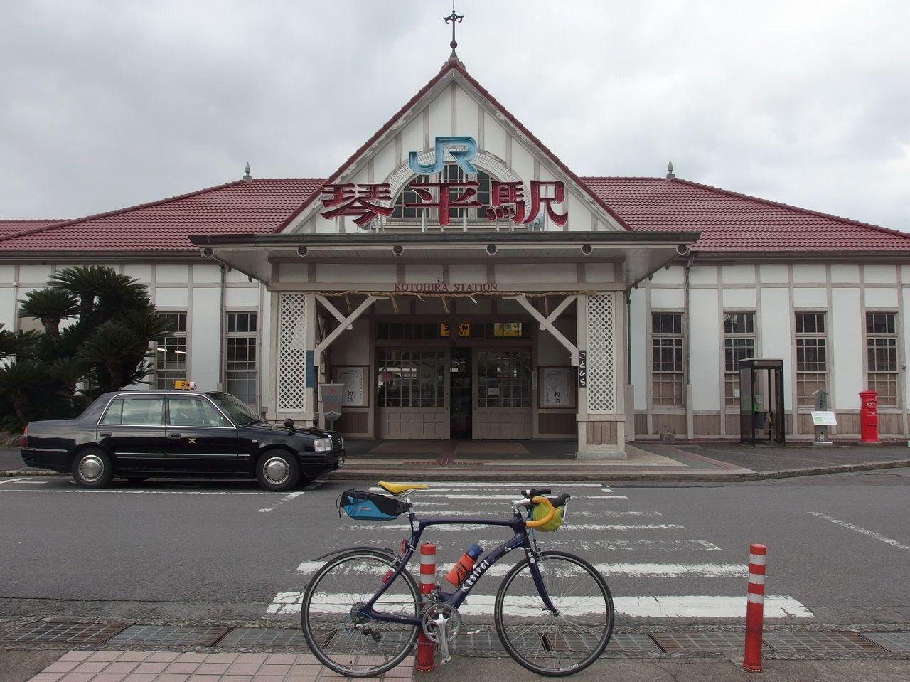 2015/1/23 自転車で讃岐うどん 1日目