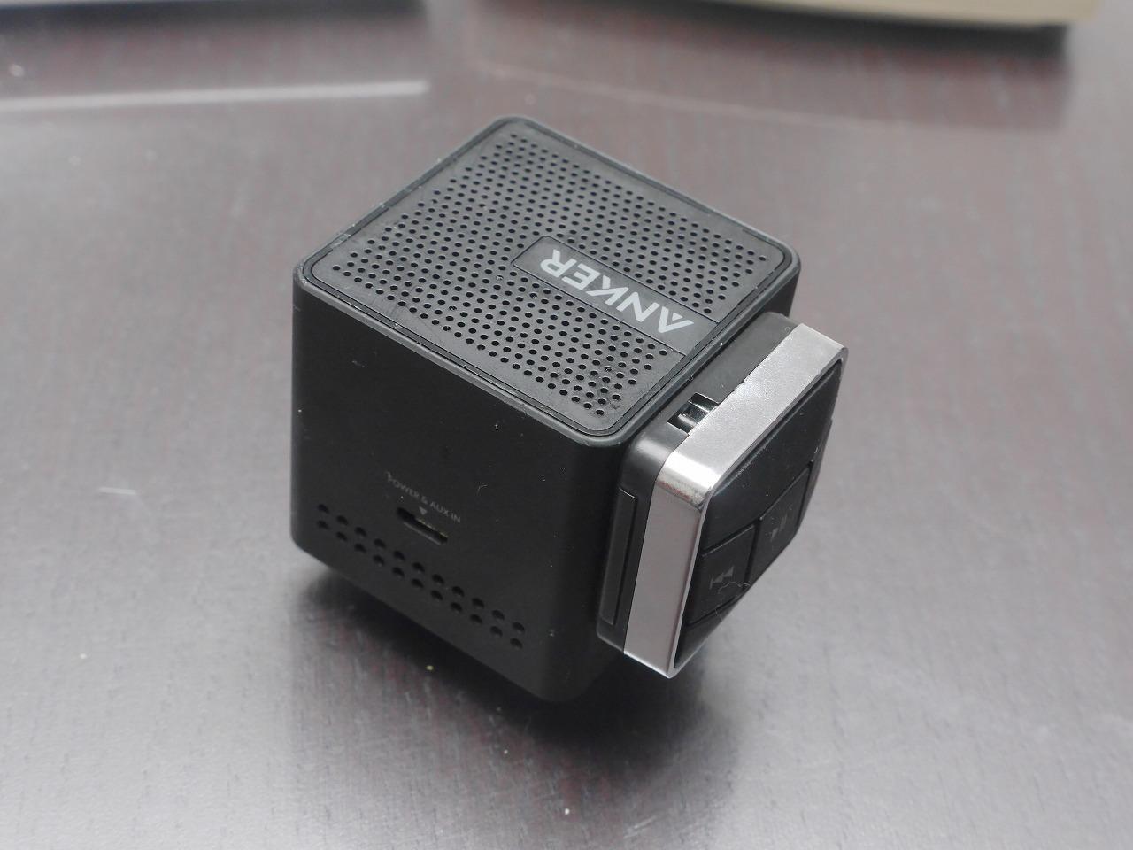 Bluetoothスピーカーとリモコン